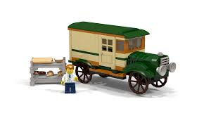 LEGO IDEAS - Product Ideas - Bakery Truck