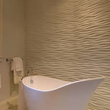white ripple bathroom tiles ideas and pictures