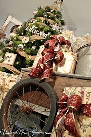 Old Wagon Wheel Holiday Christmas