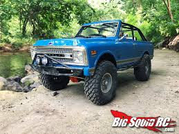 100 Blazer Truck AXIAL RACING SCX 10 II 1969 CHEVORLET BLAZER REVIEW Big Squid RC