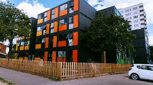 100 Houses Made Of Storage Containers London Provides Lowincome Housing In Modular Shipping