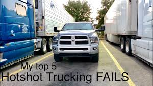 99 What Is Hot Shot Trucking MY TOP 5 MOST EXPENSIVE FAILS Shot ZagonProxy YT