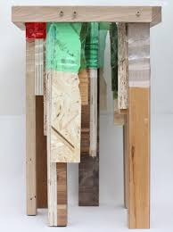 Different Types Of Wood Joints And Their Uses by Micaella Pedros Uses Shrunk Plastic Bottles To Join Furniture