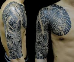 Japanese TATTOO Horimitsu The God Of Water