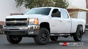 100 24 Inch Truck Rims Chevy Silverado Wheels And Tires 18 19 20 22 With White With