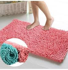 40x60cm chenille badezimmer schlupf absorbent teppich shaggy fußmatte boden teppich