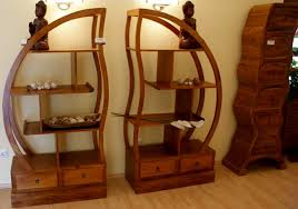 Teak Furniture Wooden Shelves Retail Display From Java Indonesia Bali