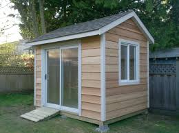 Shed Design Plans 8x10 by This Is An 8x10 Shed With Cedar Siding With A Sliding Door