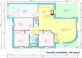 plan de maison de plain pied 3 chambres plan de maison plain pied gratuit 3 chambres sans garage avie home