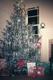 I Think If You Did Not Have A Shiny Aluminum Christmas Tree Loaded It Down With Tinsel