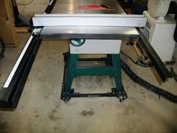 Cabinet Table Saw Mobile Base by Review My New G0661 Table Saw By Kdc68 Lumberjocks Com
