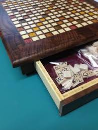 Custom Wooden Scrabble Board By Vancouver WoodSmith