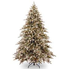 7ft Aspen Slim Christmas Tree by Home Accents Holiday 7 5 Ft Pre Lit Wesley Spruce Artificial
