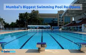 The Mahatma Gandhi Memorial Olympic MGMO Pool Mumbais Biggest Swimming Re Opens