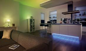 indirect lighting dramatic look through coloured light reaching