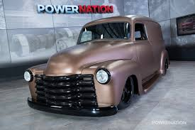 100 1947 Chevy Truck 1953 Panel Luxury Panel Van Powernation Week