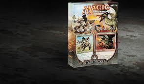 Mtg Deck Testing Online by Duel Decks Knights Vs Dragons Magic The Gathering
