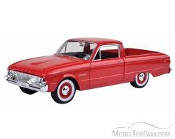 1960 Ford Ranchero Pickup Truck, Red - Motormax 79321AC/R - 1/24 ... New Ford Trucks For Sale Mullinax Of Apopka 2018 Super Duty F450 King Ranch Pickup Truck Model 2017 F250 Priced From 33730 Autoguidecom News Cars And Coffee Talk Lightning In A Bottleford Harnessed Rare Xl Hlights F150 Energy Country Mazda Bt50 First Photos Rangers Sister 125 Moebius Models 1971 Ranger Kit 1208 Specs Fordcom Classic For Classics On Autotrader