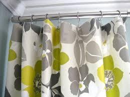 platte dip dye gray ombre window curtain