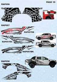 100 Ford Stickers For Trucks 4X4 FORD RANGER NEW DESIGN STICKERS FROM 79900