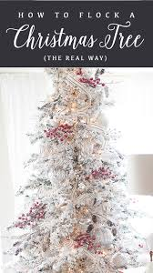 Christmas Tree Flocking Spray Can by How To Flock A Christmas Tree The Real Way Ella Claire