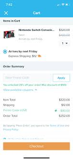 Nintendo Switch (neon) Via Wish App: $270 - Slickdeals.net 100 Working Verified Wish Promo Code W Free Shipping Discounts Coupons 19 Ways To Use Deals Drive Revenue List Over 50 For 2019 Off An Shopko Coupon Code 10 Off Naughty Coupons Him Pin On Shopping Hack Existing Customers Sept Philosophy Shop Mlb Bake Me A Wish Promo Free Shipping Best Buy Seasonal Amazon Uae Codes Offers Up 75 Coupon 70 Off New Trenidng For Sep Fanjoy