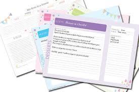 creer un livre de recette de cuisine diy des fiches de cuisine imprimer les petits riens creer un livre