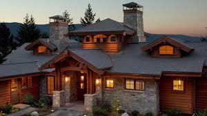 100 Mountain Home Architects Lakefront Cabin Hendricks