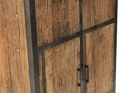 rustikaler wohnzimmerschrank sleeper wood schrank industrial bei möbelhaus düsseldorf