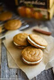 Pumpkin Whoopie Pies With Maple Spice Filling by The Most Delicious Pumpkin Whoopie Pies Wife In Progress