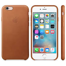iPhone 6s Leather Case Saddle Brown Business Apple