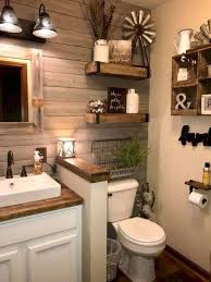 Farmhouse Bathroom Decor: 23 Stylish Ideas To Inspire You Bathroom Inspiration Idea Diy Decor Ideas Have You Made For Simple And Elegant Bath Decorating Rustic Wall 17 Modern Bathroom Decorating Ideas 15 Victorian Plumbing 31 Cheap Tricks For Making Your The Best Room In House Extraordinary Powder Spa Pictures Collect This Pullouts Relaxing Flowers That Will Refresh 21 Small Fniture Apartment On A Budget Amazing Country Outhouse