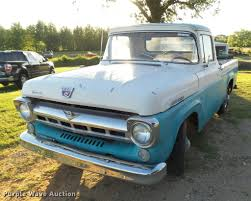 1957 Ford F100 Pickup Truck | Item DE9623 | SOLD! June 7 Veh...
