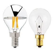 g14 candelabra led bulb silver tipped led filament bulb 30