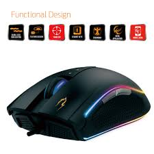 Gamdias ZEUS P2 RGB Optical Gaming Mouse / Adjustable DPI Up To 16000 /  Double Level RGB Streaming Lighting / Ergonomic Design / 8 Fully  Programmable ...