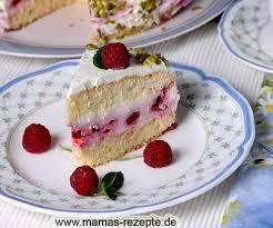kleine himbeer panna cotta torte