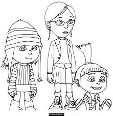 Download Or Print These Amazing Despicable Me Coloring Pages