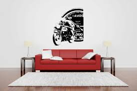wall decor vinyl sticker mural decal my garage my
