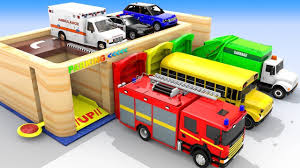 Colors For Children To Learn With Cars And Trucks Multi-Level ...