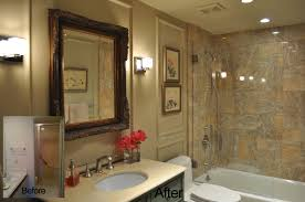 Small Bathroom Pictures Before And After by Craftsman Bathroom Remodel Hammer Like A Girlhammer Like Diy