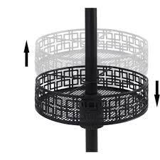 Mainstays Patio Heater Wont Stay Lit by Mainstays Patio Umbrella Basket Walmart Com