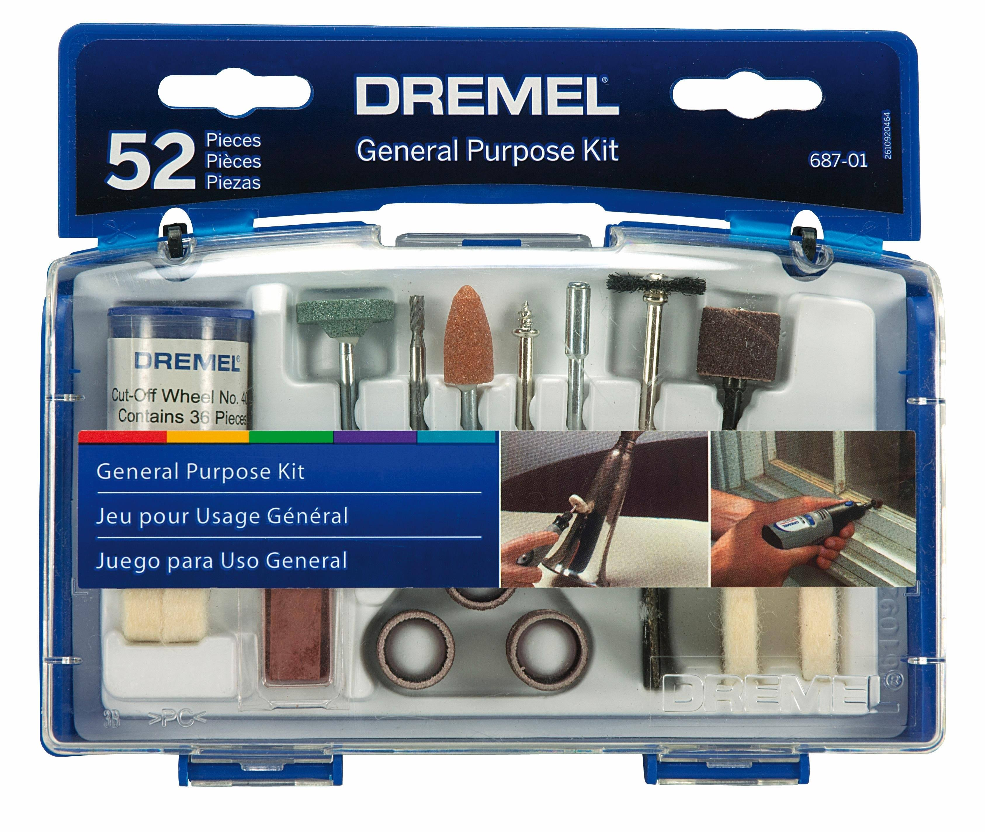 Dremel - 52 pc. General Purpose Kit