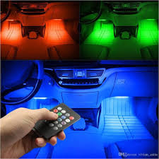 Green Interior Led Lights For Cars 2018 Rgb Light 48led Usb Music ...