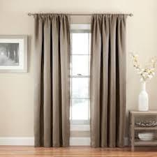 Butterfly Curtain Rod Kohls by Neutral Regular Rod Pocket Window Treatments Kohl U0027s