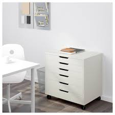 Plastic Drawers On Wheels by Alex Drawer Unit On Casters White Ikea
