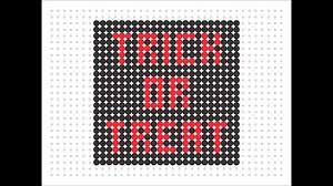 Halloween Perler Bead Patterns by Hama Bead Trick Or Treat Halloween Series 2 15 Youtube