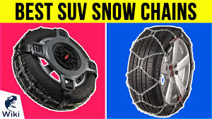 Top 8 SUV Snow Chains Of 2019 | Video Review