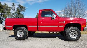 1986 Chevy K 10 Short Bed 4×4 For Sale