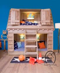 Cabin Bunk Beds For Kids Small Home Decoration Ideas 9474