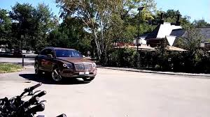 100 2015 Bentley Truck Exclusive Bentayga Rolling By And Being Placed In A